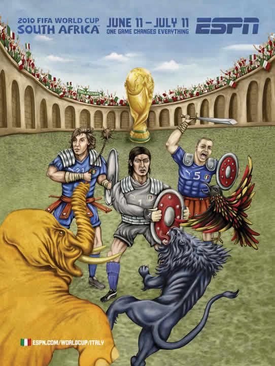 Les affiches ESPN pour la coupe du monde 2010 18
