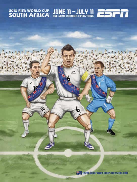 Les affiches ESPN pour la coupe du monde 2010 13