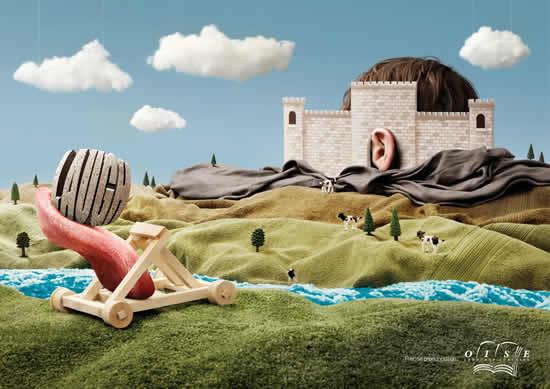 70+ publicités designs et créatives de Juillet 2010 26