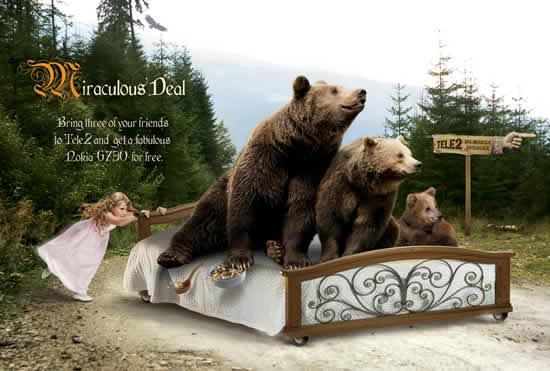 70+ publicités designs et créatives de Juillet 2010 6