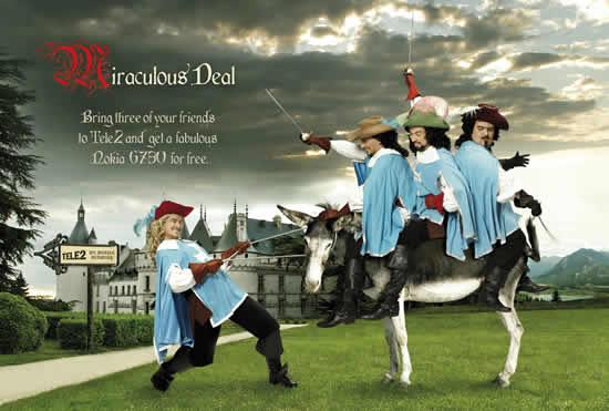 70+ publicités designs et créatives de Juillet 2010 5