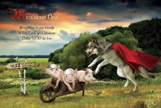 70+ publicités designs et créatives de Juillet 2010 4