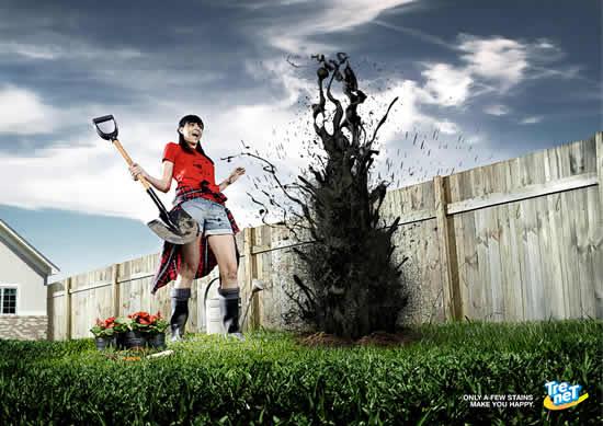 70+ publicités designs et créatives de Juillet 2010 3