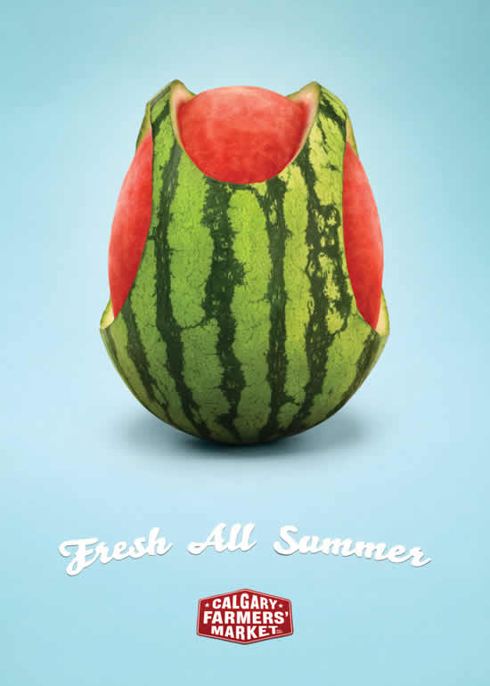 70+ publicités designs et créatives de Juillet 2010 70