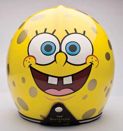 Le casque design Bob L'éponge 5