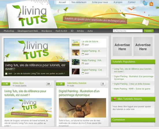 Living Tuts - Site de Tutoriaux en Français 1