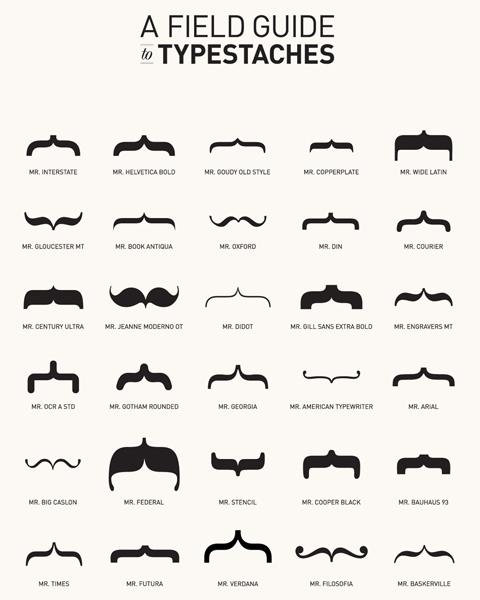 Des moustaches designs et créatives 14