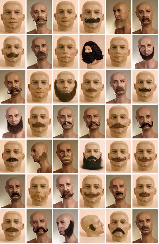 Des moustaches designs et créatives 6