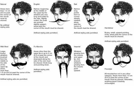 Des moustaches designs et créatives 10