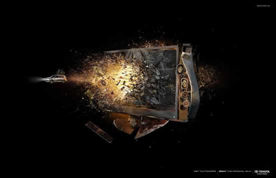 78+ publicités designs et créatives de Aout 2010 40
