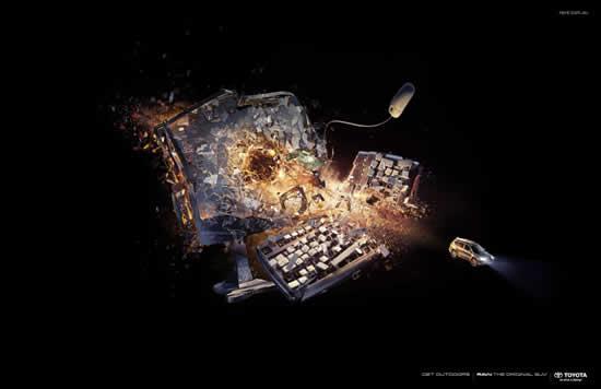 78+ publicités designs et créatives de Aout 2010 39