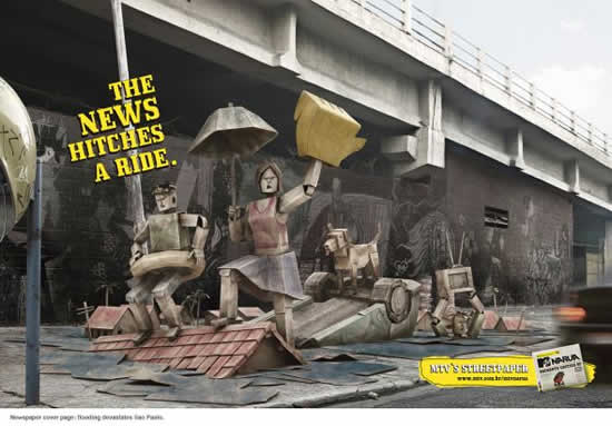 78+ publicités designs et créatives de Aout 2010 27