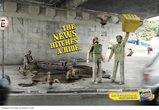 78+ publicités designs et créatives de Aout 2010 26