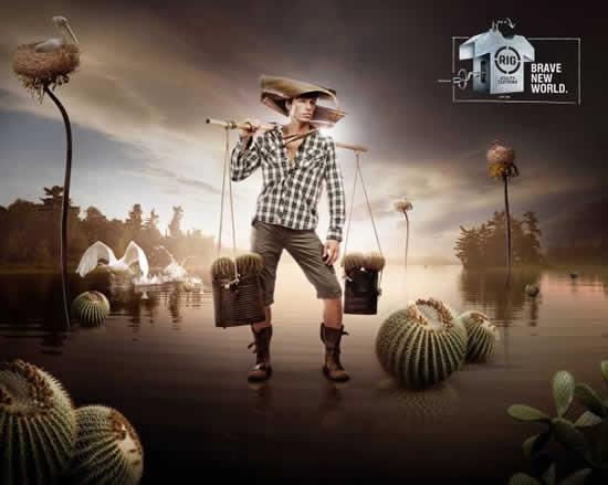 78+ publicités designs et créatives de Aout 2010 19