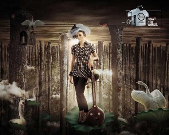78+ publicités designs et créatives de Aout 2010 17