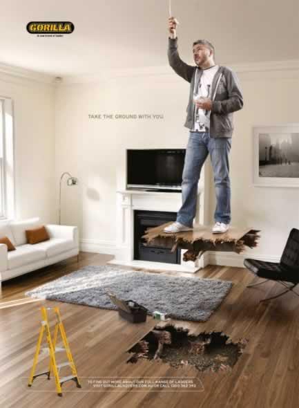 69+ publicités designs et créatives de Septembre 2010 34