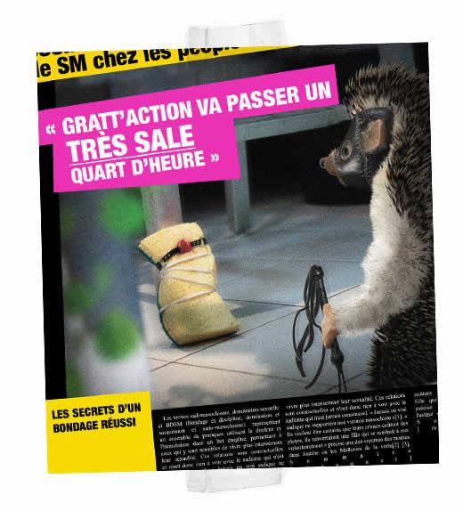 Le Scandale Spontex : Les photos volées du hérisson 5