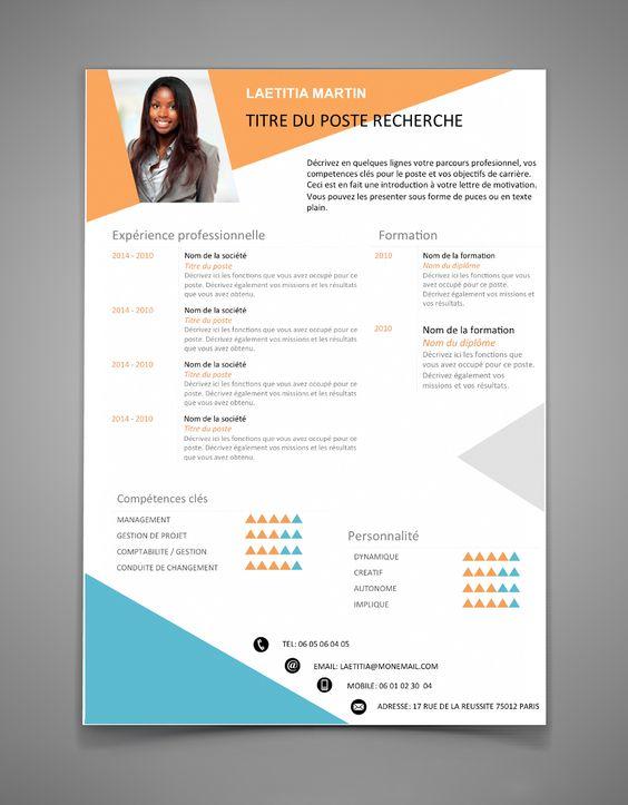 22 idées de CV créatifs 16