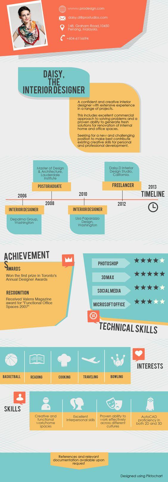 22 idées de CV créatifs 5