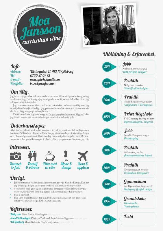 22 idées de CV créatifs 6