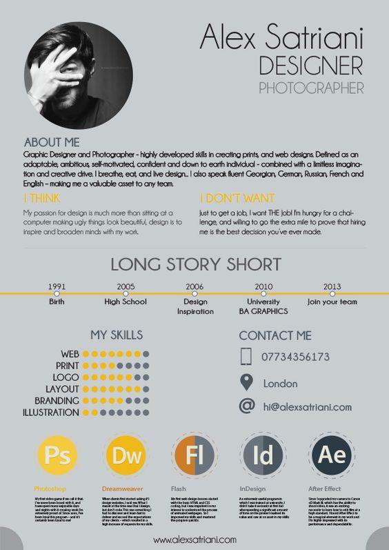 22 idées de CV créatifs 7