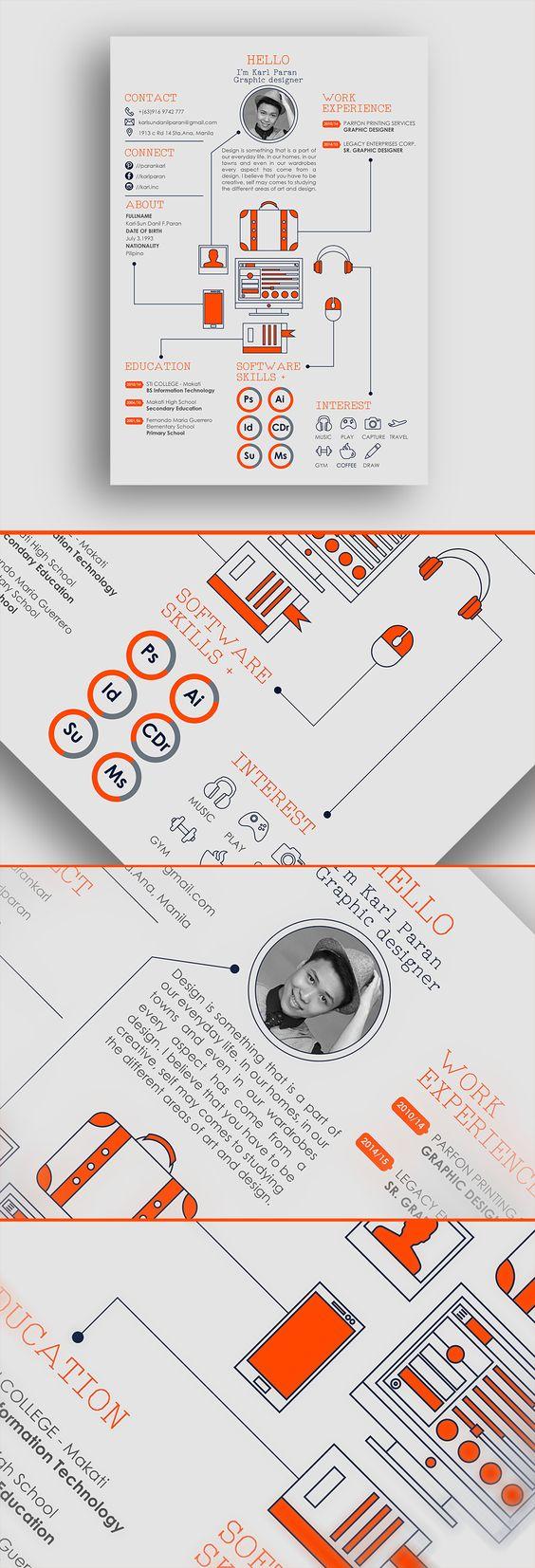 22 idées de CV créatifs 8