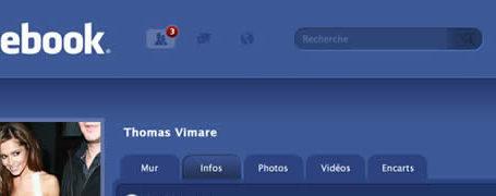 Facebook change de design... 15 interfaces 1