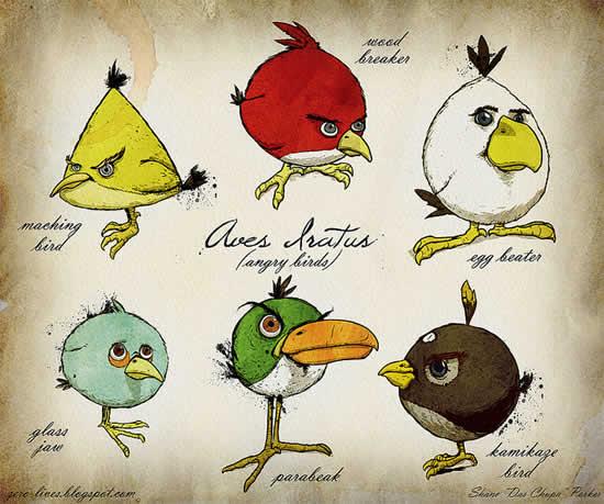 Best Angry Birds Fan Art & funny goodies 2