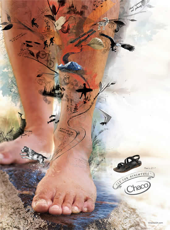 76+ publicités designs et créatives de novembre 2010 55
