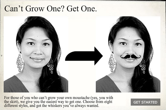 Générateur : Moustaches Make A Difference 9