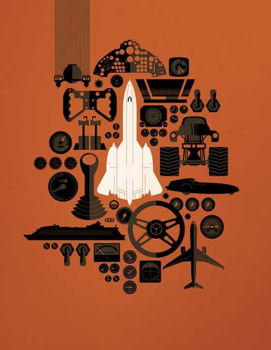 Les superbes illustrations de films de Tom Whalen 7