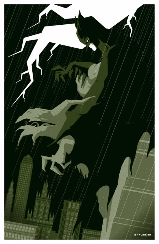 Les superbes illustrations de films de Tom Whalen 6