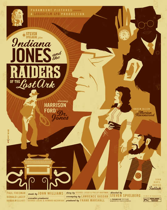 Les superbes illustrations de films de Tom Whalen 5