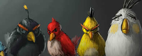 Best Angry Birds Fan Art & funny goodies 10