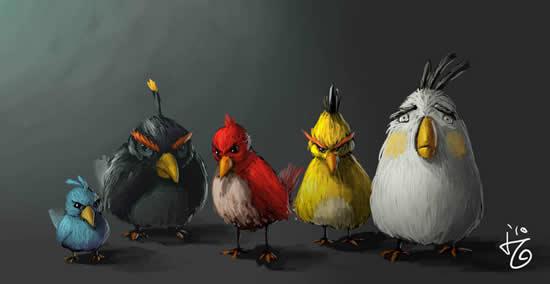 Best Angry Birds Fan Art & funny goodies 3