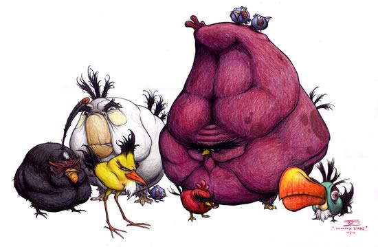 Best Angry Birds Fan Art & funny goodies 5
