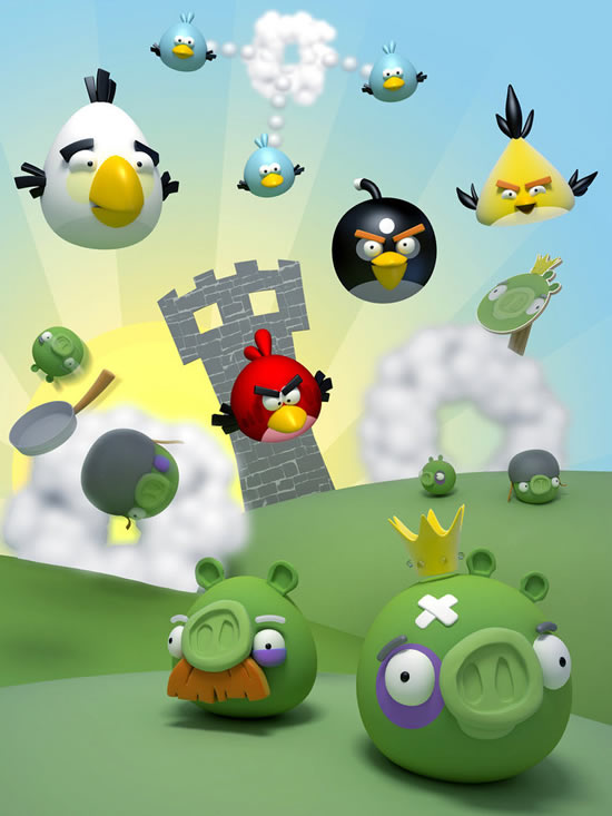 Best Angry Birds Fan Art & funny goodies 4