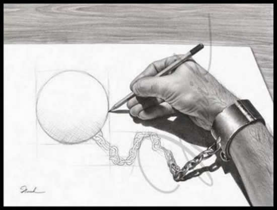 43+ superbes dessins avec illusions 3D - Edgar Müller, J.Beever, Fredo 37