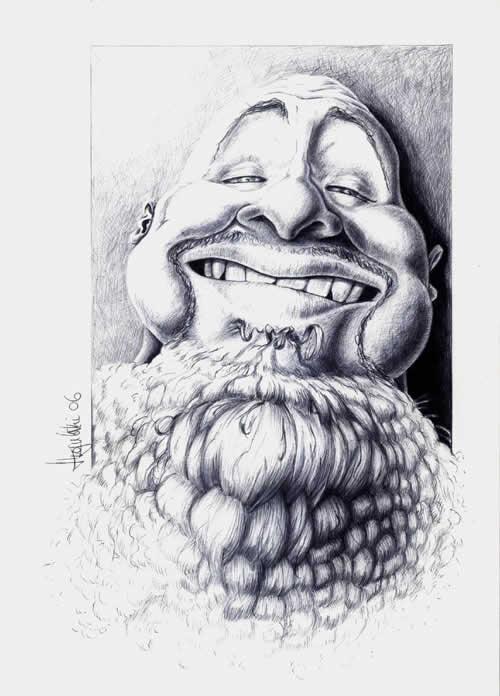 67+ Superbes caricatures de stars de Patrick Strogulski 55