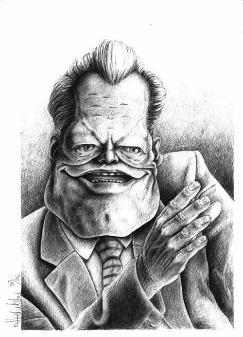 67+ Superbes caricatures de stars de Patrick Strogulski 3