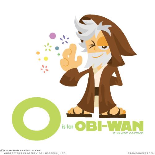 L'alphabet Star Wars de Brandon Peat 16
