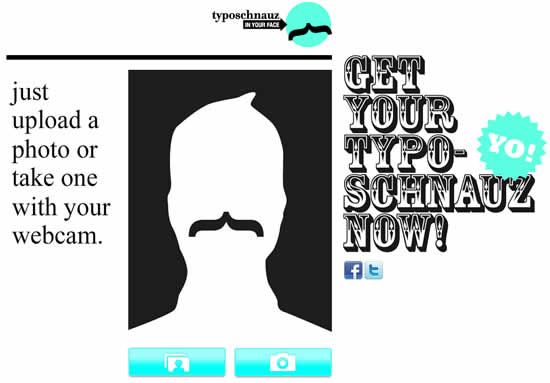 générateur de moustaches - typographe yourself 1