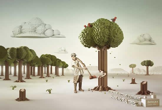 65 publicités designs et créatives de Décembre 2010 35