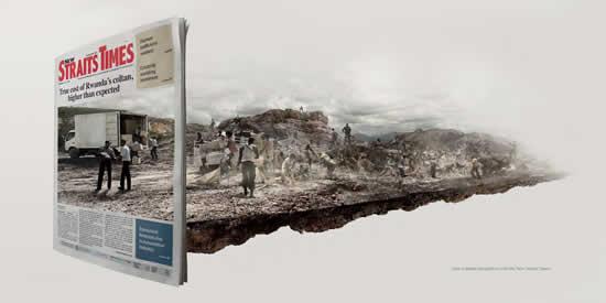 65 publicités designs et créatives de Décembre 2010 31
