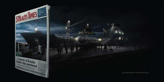 65 publicités designs et créatives de Décembre 2010 29