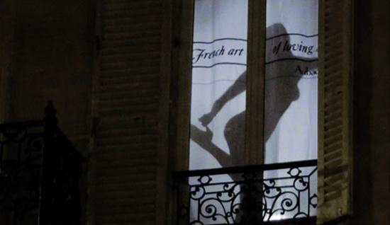 Aubade Streetmarketing - French Art of Loving 2