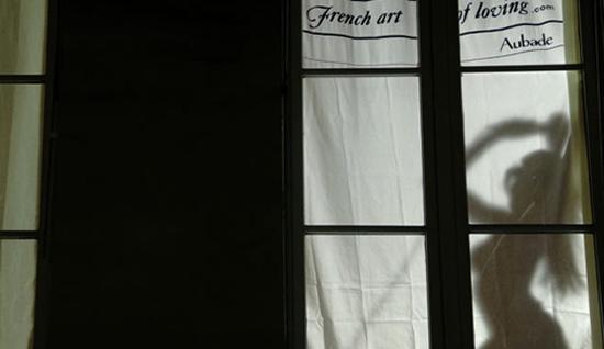 Aubade Streetmarketing - French Art of Loving 1