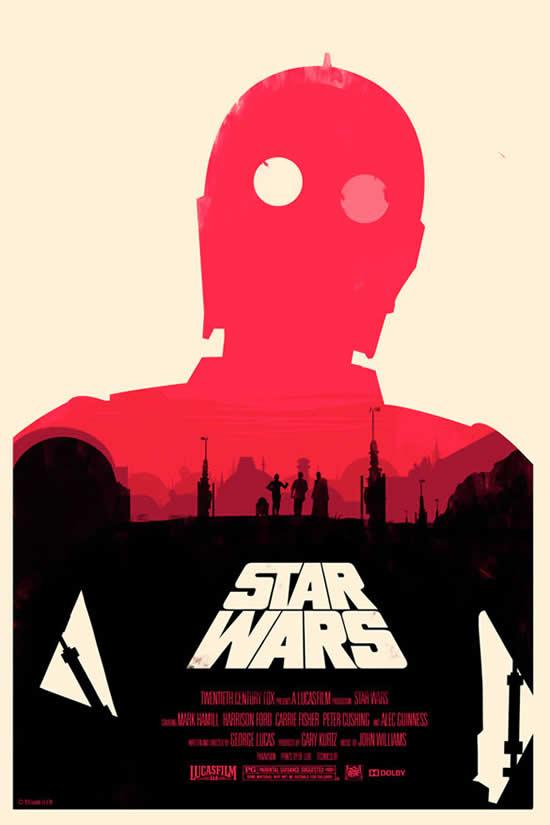 Les meilleurs posters FanArts StarWars 40