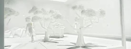 Superbes pubs Toshiba en Origami 3D 2