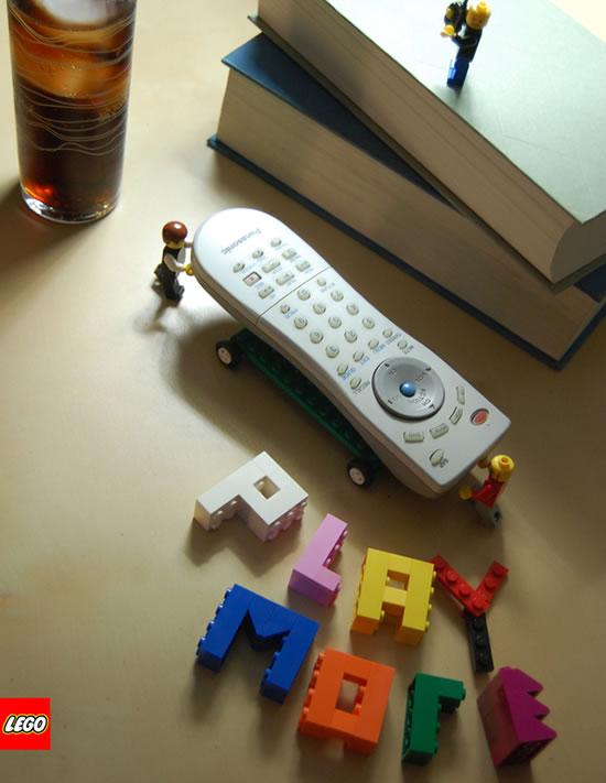 80 publicités Lego  75